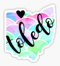 Toledo Sticker