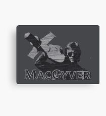 MacGyver Tee Canvas Print