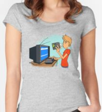 Blow That Cartridge! Women's Fitted Scoop T-Shirt