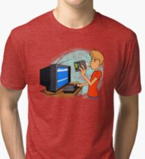 Blow That Cartridge! Tri-blend T-Shirt