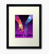 Sun & Moon Framed Print