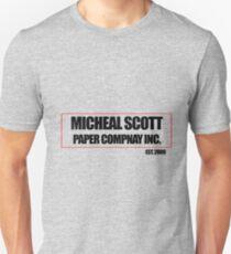 Micheal Scott Paper Company Tee T-Shirt