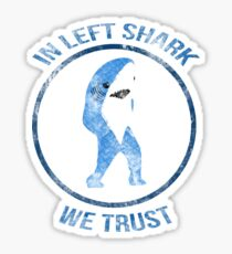 Left Shark - Superbowl 2015 Sticker