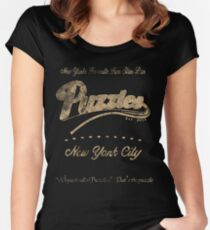Puzzle's Bar - How I Met Your Mother Women's Fitted Scoop T-Shirt