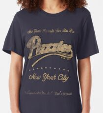Puzzle's Bar - How I Met Your Mother Slim Fit T-Shirt