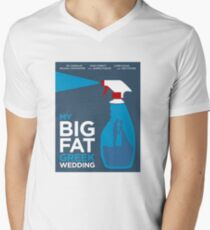 My Big Fat Greek Wedding // Minimalist Art Men's V-Neck T-Shirt