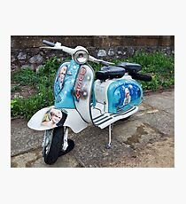 Dusty Springfield Lambretta Photographic Print