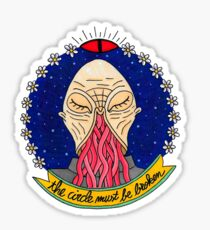 Ood alien face  Sticker