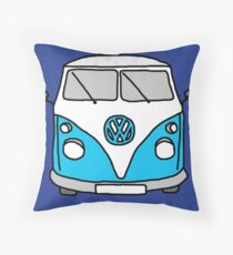 VW camper Throw Pillow