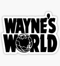 Wayne's World (Inverted) Sticker