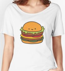 burger Women's Relaxed Fit T-Shirt
