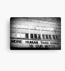 More Human Than Human Metal Print