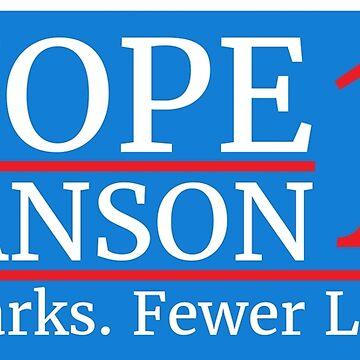 Vote Knope Swanson 2016 by illuminatim