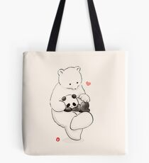 Panda Therapy Tote Bag