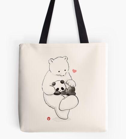 Panda Therapy Tote Bag
