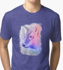 Wolf - First Aid Kit Tri-blend T-Shirt
