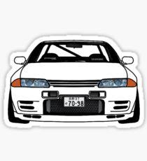 Pegatina SKYLINE R32 GTR BLANCO BLANCO JDM