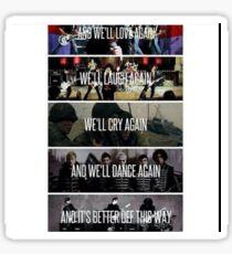 My chemical romance lyrics Sticker