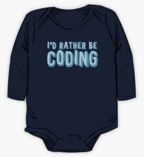 I'd rather be coding Kids Clothes