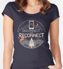 Reconnect Women's Fitted Scoop T-Shirt