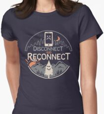 Reconnect Women's Fitted T-Shirt