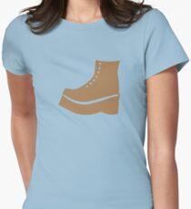 A brown boot shoe T-Shirt