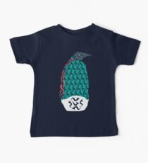 Abstract Penguin Baby Tee