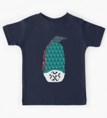 Abstract Penguin Kids Clothes