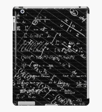 Geek Chic (white on black) iPad Case/Skin