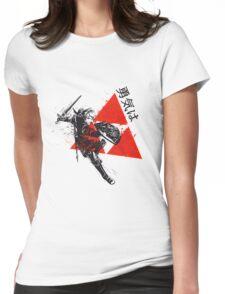 Legend of Zelda Triforce Womens Fitted T-Shirt