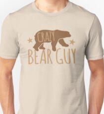 Crazy Bear Guy Unisex T-Shirt