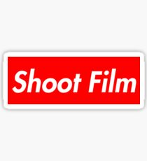 Shoot Film (Supreme Style) Sticker