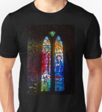 Ireland. Adare. Church. Light. Unisex T-Shirt