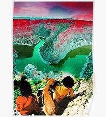 Wonderful Cliff Poster