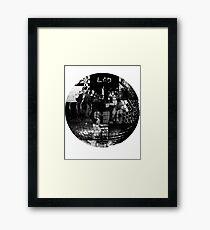 LCD Soundsystem - Disco ball Framed Print