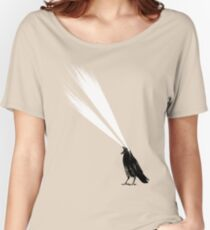 Laser crow Women's Relaxed Fit T-Shirt