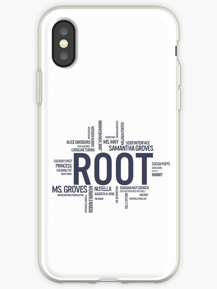 Root Identities - Person Of Interest by kirtash1