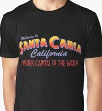 The Lost Boys - Welcome To Santa Carla Graphic T-Shirt
