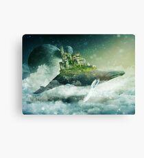 Flying Kingdoms Canvas Print