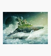 Flying Kingdoms Photographic Print