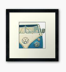 VW Bus Chillin Framed Print