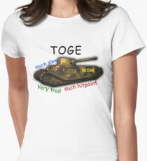 TOGE Womens Fitted T-Shirt
