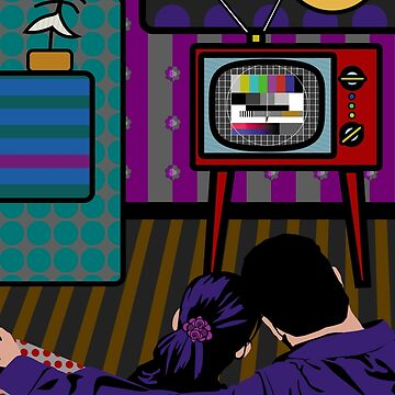 Test Pattern (Someones should invent a remote control) by Misaku