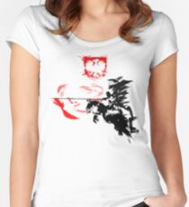Polish Hussar Women's Fitted Scoop T-Shirt