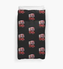 Here Comes A London Bus! Duvet Cover