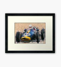 Historic Car Racing Framed Print