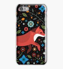 Flame Fox  iPhone Case/Skin