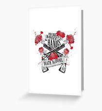 Illuminae - Death Blooms Greeting Card