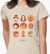 Ghibli Collection Womens Fitted T-Shirt