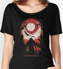 And so the Nightly Hunt begins Women's Relaxed Fit T-Shirt